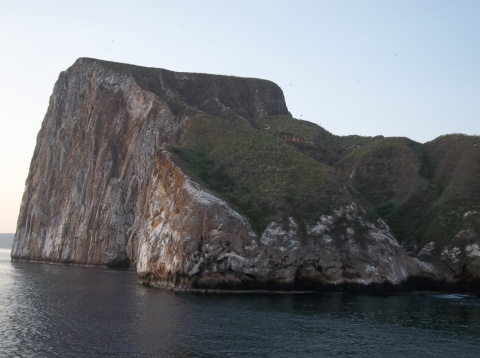 Rock cropping near Santa Cristobal