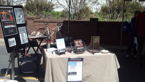 table at Day of the Book