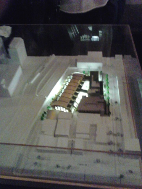 model for new building
